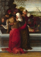 The Entombment painting reproduction, Adriaen Ysenbrandt