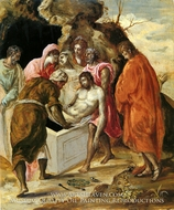 The Entombment of Christ by El Greco