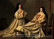 The Ex-Voto of 1662 painting reproduction, Philippe De Champaigne