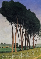 The Family of Trees by Felix Vallotton