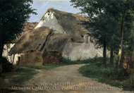 The Farm at the Entrance of the Wood painting reproduction, Rosa Bonheur