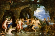 The Feast of Achelous painting reproduction, Peter Paul Rubens