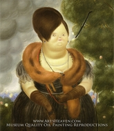 The First Lady by Fernando Botero