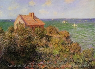 The Fisherman's Cottage at Varengeville painting reproduction, Claude Monet