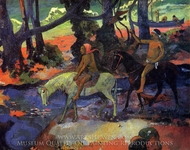 The Ford (Flight) painting reproduction, Paul Gauguin