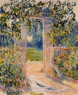 The Garden Gate by Claude Monet