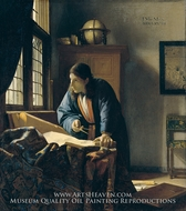 The Geographer by Jan Vermeer