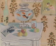 The Goldfish Bowl by Henri Matisse