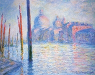 The Grand Canal painting reproduction, Claude Monet