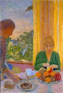 The Green Blouse by Pierre Bonnard