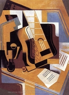 The Guitar painting reproduction, Juan Gris