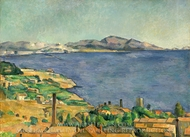 The Gulf of Marseilles painting reproduction, Paul Cezanne
