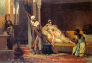 The Harem Favorite painting reproduction, M Belloni