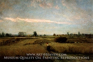The Harvest by Charles Daubigny