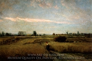 The Harvest painting reproduction, Charles Daubigny