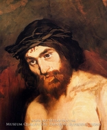 The Head of Christ by Edouard Manet