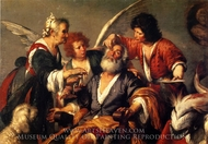 The Healing of Tobit painting reproduction, Bernardo Strozzi