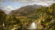 The Heart of the Andes painting reproduction, Frederic Edwin Church