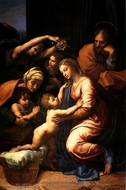 The Holy Family painting reproduction, Raphael Sanzio