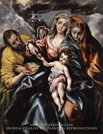 The Holy Family with Saint Mary Magdalen by El Greco