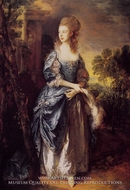 The Honourable Frances Duncombe by Thomas Gainsborough