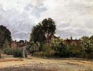 The Hospice at Argenteuil by Claude Monet