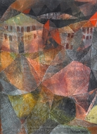 The Hotel painting reproduction, Paul Klee