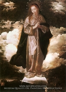 The Immaculate Conception by Diego Velazquez