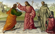 The Incredulity of Saint Thomas painting reproduction, Giovanni Battista Da Faenza