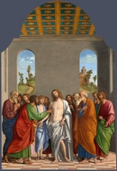 The Incredulity of Saint Thomas painting reproduction, Cima Da Conegliano