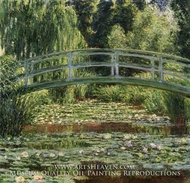 The Japanese Footbridge and the Water Lily Pool, Giverny by Claude Monet