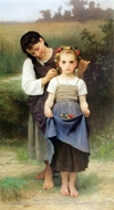 The Jewel of the Fields (Parure des Champs) by William Adolphe Bouguereau