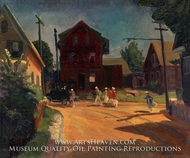 The Jitney by John French Sloan
