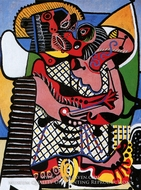 The Kiss by Pablo Picasso (inspired by)