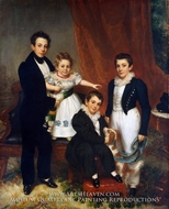 The Knapp Children by Samuel Lovett Waldo