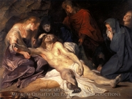 The Lamentation painting reproduction, Peter Paul Rubens