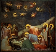 The Lamentation of Christ painting reproduction, Giotto Di Bondone
