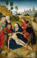 The Lamentation of Christ painting reproduction, Simon Marmion