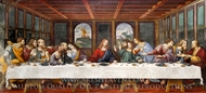 The Last Supper painting reproduction, Cesare Da Sesto