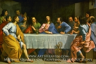 The Last Supper by Philippe De Champaigne