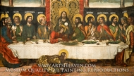 The Last Supper by Pedro Berruguete