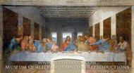 The Last Supper painting reproduction, Leonardo Da Vinci