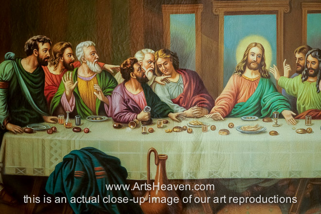 Last Supper Painting Related Keywords & Suggestions - The Last Supper ... Da Vinci Last Supper Restored