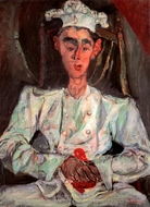 The Little Pastry Cook painting reproduction, Chaim Soutine