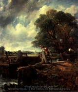 The Lock painting reproduction, John Constable