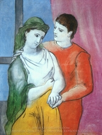 The Lovers painting reproduction, Pablo Picasso (inspired by)