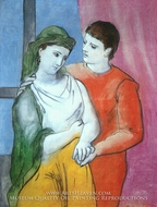 The Lovers by Pablo Picasso (inspired by)