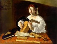 The Lute Player painting reproduction, Caravaggio
