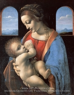 The Madonna and Child by Leonardo Da Vinci