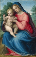 The Madonna and Child by Giovanni Antonio Sogliani